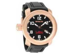 Invicta Sea Hunter Russian Mission Black Dial Mens Watch 1546