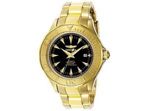 Invicta Men's Signature Automatic 23k Yellow Gold Plated 7040