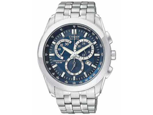 Citizen Eco-Drive Chronograph WR100 Blue Dial Men's watch #AT1180-56L