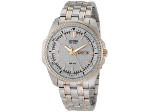 Citizen Eco-Drive WR100 Silver Dial Men's watch #BM8496-51A