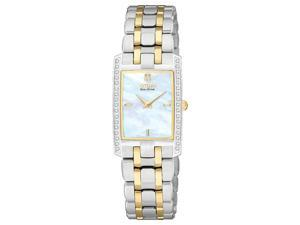 Citizen Eco-Drive Stiletto 34 Diamonds Mother-of-pearl Dial Women's watch #EG3174-53D