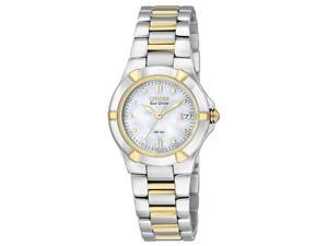 Citizen Ladies Two Tone Riva MOP Watch EW1534-57D