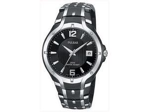 Pulsar Men's Black Sport Watch PXH521
