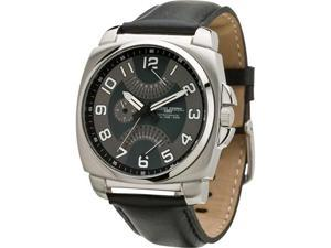 Jorg Gray Leather Multifunction Gunmetal-tone Dial Men's watch #JG1040-11