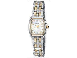 Seiko SXGM46 Women's Le Grand Sport Two Tone Diamond Watch