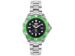 Invicta 3047 Men's Black Dial Green Bezel Automatic Grand Diver
