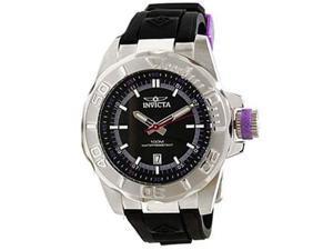 Invicta 12161 Men's Pro Diver Ocean Baron Black Dial Black Rubber Strap Date Wat