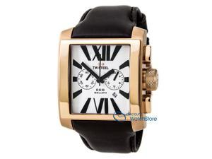 TW Steel CEO Goliath Rose - Gold Chronograph 42MM Mens   Watch CE3009