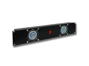 Seismic Audio -  Dual Cooling Fan for 19 Inch Pro Audio Rack Cases