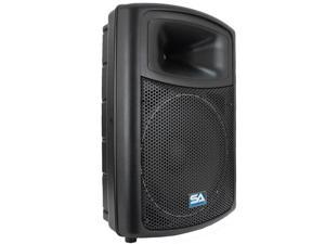 "Seismic Audio - Powered 15"" PA DJ Speaker - 600 watt Molded Active Cabinet"