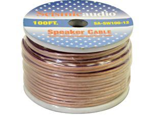 Seismic Audio - SA-SW100-12 - 100 Foot Spool of Speaker Wire - 12 Gauge - New - Home Audio