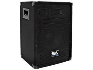 "Seismic Audio - SA-10 Pro Audio 10"" PA DJ Speaker Cabinet Main"