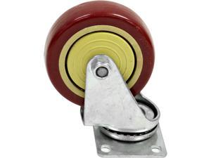 Seismic Audio - Non-Locking 4 inch Swivel Caster - Holds up to 500 lbs