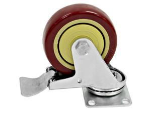 Seismic Audio - Locking 4 inch Swivel Caster - Holds up to 500 lbs