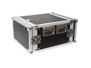 Seismic Audio - 6 Space Rack Flight Case - Fits Standard 19 inch Gear- Pro Audio