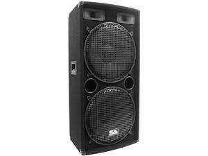 "Seismic Audio - Dual 15"" PA / DJ / Band Pro Audio Speaker"
