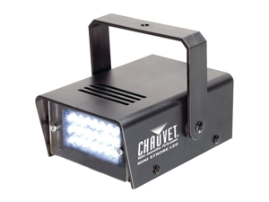 CHAUVET MINISTROBELED MINI STROBE LED LIGHT