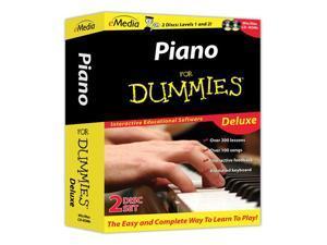 eMedia Piano for Dummies Deluxe Set
