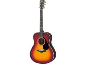 Yamaha LL6 Handcrafted Acoustic Guitar in Sunburst
