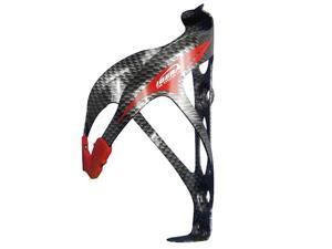 Ibera IB-BC9 Extra Lightweight Alloy Bicycle Water Bottle Cage - Carbon