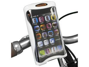 "Ibera Bicycle Handlebar iPhone 5, iPhone 5s, iPhone 5c Smartphone Case, Bar Clamp with Removable Bottle Cage Adapter, 4.3"" ..."