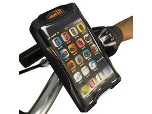 "Bicycle iPhone 5 Smartphone Case w/ 4.3"" Screen, Bar Clamp Mini Bar, Black"