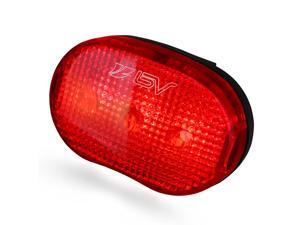 BV Bicycle 3 LED Taillight, 3 Modes, Quick-Release, Water Resistant