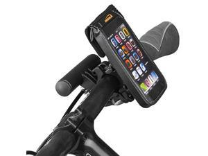 Bicycle Weather-Resistant Smartphone Handlear Mount with Mini Handebar (Black)