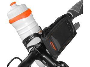Ibera Bike Smartphone Handlebar Mount Bag with Removable Bottle cage Adapter, Designed for HTC, iPhones, iPod touch, Androids, ...