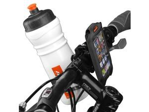 "Ibera iPhone 4, iPhone 4s, Smartphone Case with Bottle Cage Adapter (4"" screens), Black"
