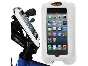 "Ibera Bicycle Smartphone Case with Stem Mount for Up to 4"" Screens (White)"