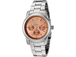 Women's Angel Rose-Tone Dial Stainless Steel