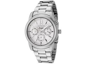 Invicta Women's Angel Mother of Pearl Dial Stainless Steel