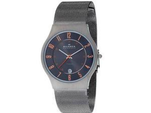 Skagen Titanium Grey Dial Men's Watch #233XLTTMO
