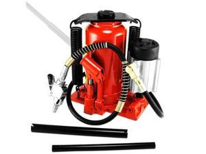 Tooluxe 12-Ton Heavy Duty Air Hydraulic Bottle Jack