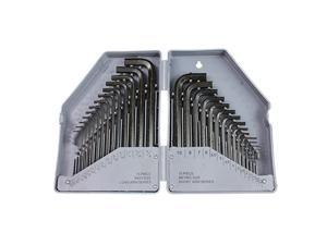 Neiko Tools USA 30 piece SAE and Metric Combination Hex Key Set