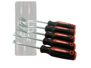 Neiko 5-Piece Auto Trim Panel Removal Tool Set with Soft Grip
