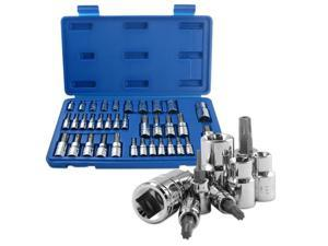 Neiko E-Torx Socket and Torx Bits Socket Set, 35-Piece