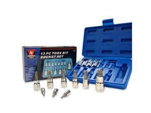 Neiko Torx Bit Socket Set, T8-T60, 13-Piece