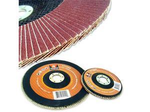 Neiko 4-1/2-Inch 100 Grit Aluminum Oxide Flap Disc