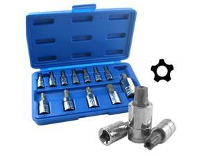 Neiko Torx Plus Security Bit Socket Set, 8IPR-60IPR, 12-Piece
