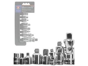 Neiko 8-Piece Adaptor and U-Joint Set