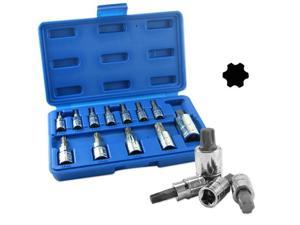 Neiko Torx Plus Bit Socket Set, TP8-TP60, 12-Piece