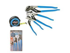 Channellock CL-GS-3T Pliers Set, 4-Piece