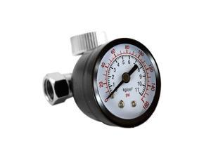 Tooluxe 1/4-Inch NPT Air Regulator with 160 PSI Gauge