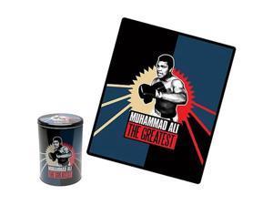 Muhammad Ali The Greatest Fleece Throw with Tin