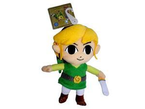 Exclusive Legend of Zelda Wind Waker Link 6-Inch Plush