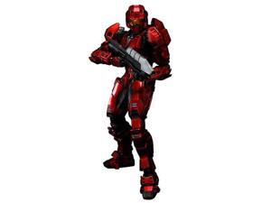 Halo Combat Evolved Red Spartan Mark V Play Arts Kai Figure