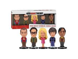 Big Bang Theory Mini Bobble Head Box Set