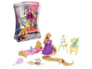 Disney Tangled Rapunzel Tower Treasures Doll and Accessories